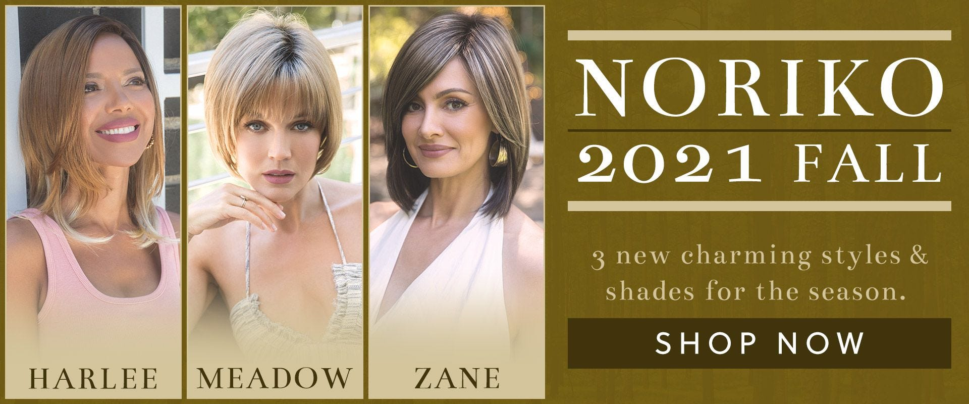 3 New Styles From Noriko