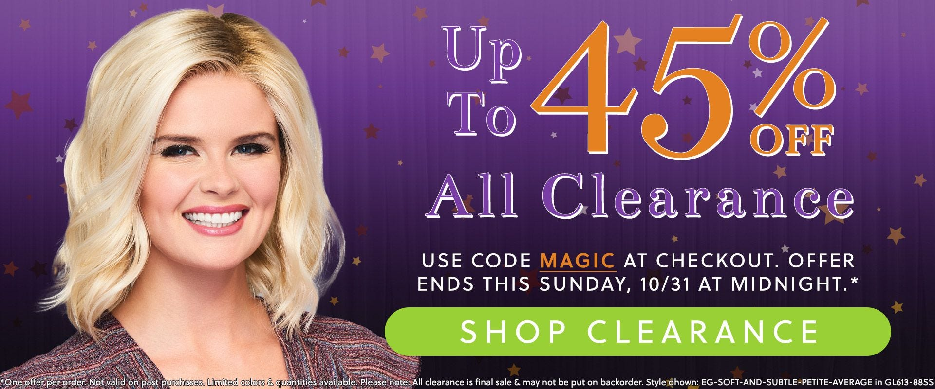 Up To 45% Off Clearance Is Here