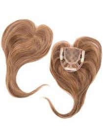 Add-On Crown Human Hair Blend Hairpiece