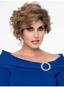 Carrisa Partial Monofilament Wig
