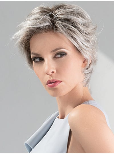SILVER-BLONDE-ROOTED