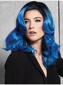 Blue Waves Fantasy Color Wig