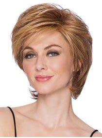 Short Tapered Crop Heat Friendly Synthetic Wig
