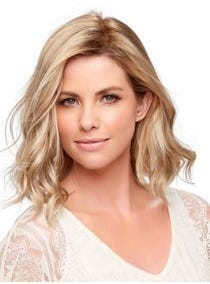 "Top Wave 12"" Monofilament Hairpiece"