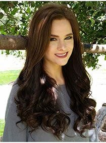 U Shape Human Hair Addition