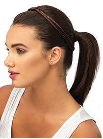 Fishtail Braid Headband Synthetic Hairpiece