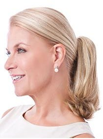 Clip-On Straight Pony Hairpiece