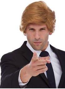 Donald T Boss Costume Wig