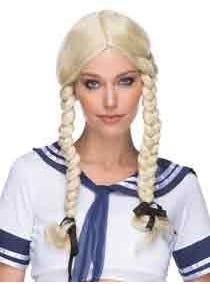 Indian Girl / Pocahontas Costume Wig