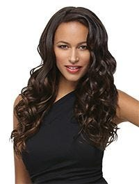 18 Inch 8 Piece Wavy Extension Kit by Hairdo