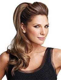 22 Inch Pony Fall Synthetic Hairpiece by Luxhair