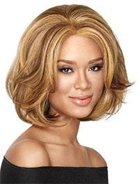 Big Wave Bob Lace Front Synthetic by LuxHair