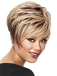 Textured Pixie Synthetic by LuxHair