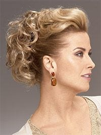 Updo Curls Magic Comb Synthetic Hairpiece By Raquel Welch
